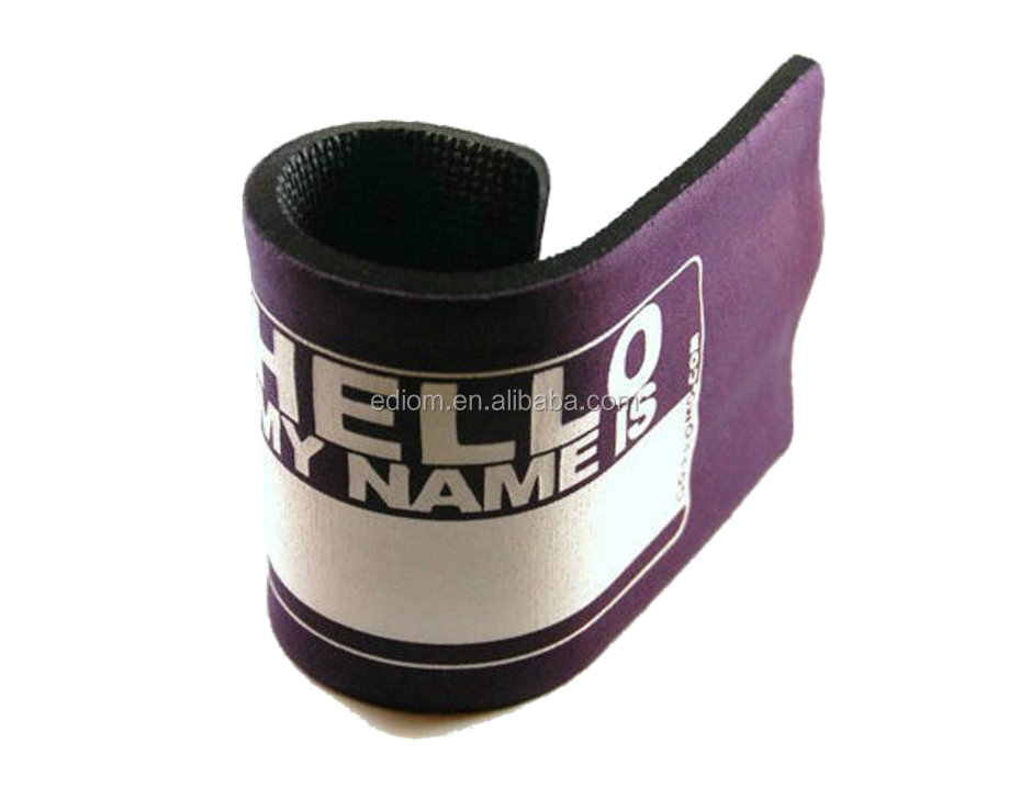 Neoprene Slap and Wrap Beer Can Cooler Stubby Holder