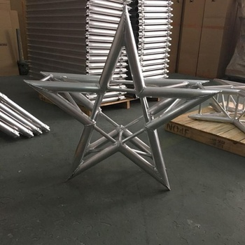 Supplier of Roof aluminum lighting truss for trade show truss ,Aluminum Triangle truss box corner