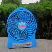 Attractive Portable Mini Battery Operated Desk Cool Cooler Fan with USB Rechargeable 18650 2200