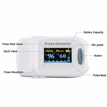 Blood testing equipment oximeter pulso oximetro with CE FDA approved