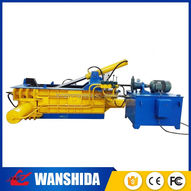 CE Y81T-125A Metal Scrap Metal Baling Press Baler company Machine