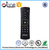 New Released Low voltage indication function MINIX A2 wireless keyboard and mouse iptv set top box remote control