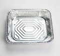 Disposable aluminium foil food tray Large size