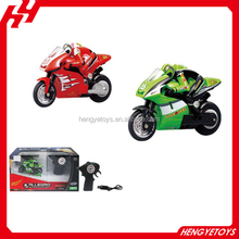 China hot sale Small Mini RC Nitro Motorcycle 2.4Ghz 3.7V RTR Radio Control Motorcycles