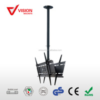 Retractable Back to Back Tilting LCD Plasma TV Ceiling Mount VM-CP04-2 B-02