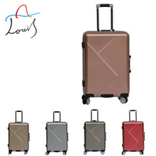 Aluminum box luggage caster trolley case luggage travel suitcase paaword lock custom your logo password trolley luggage abs