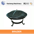 Outdoor BBQ Grill Large Round Metal Fire Pit