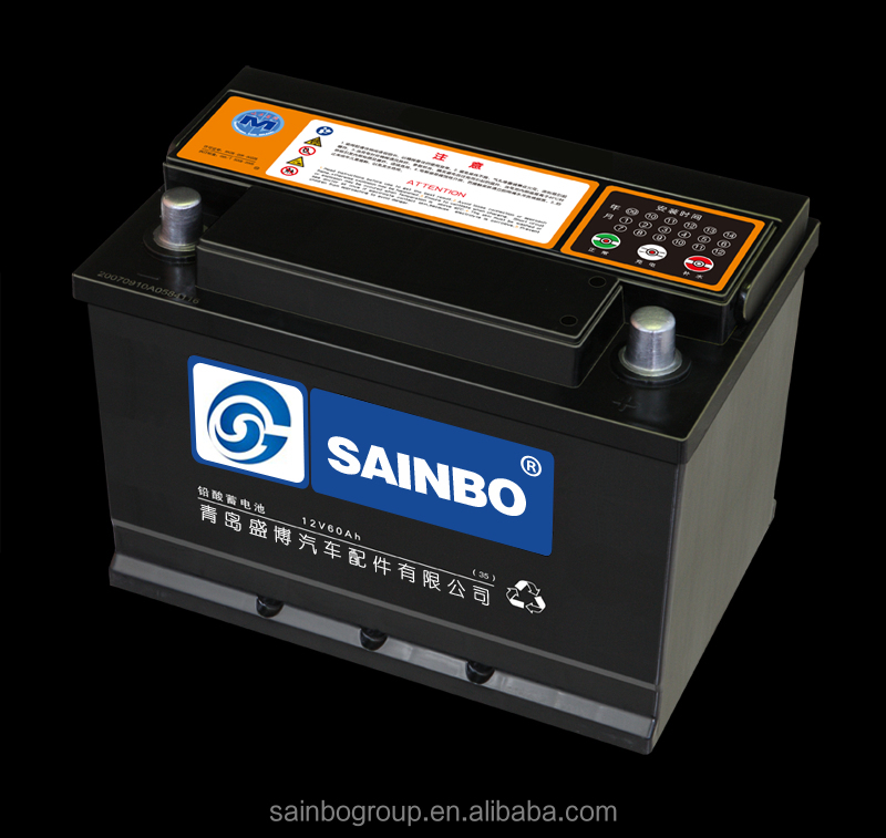 High quality Sealed Maintenance Free car battery