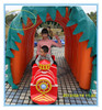 FRP body amusements rides children electric train,railroad track train for sale