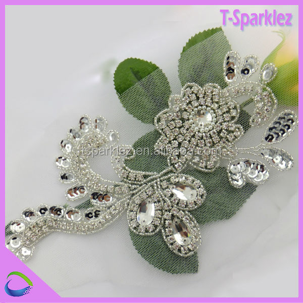 Wholesale Applique Glass Stones for Wedding Manufacturer