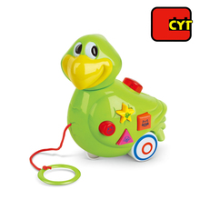 alibaba funny musical toys animals parrot pull toy small plastic birds for children