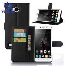 China Factory Latest Flip Leather Wallet With Card Solts Phone Case Cover For Lenovo A5860 A5500 A5600
