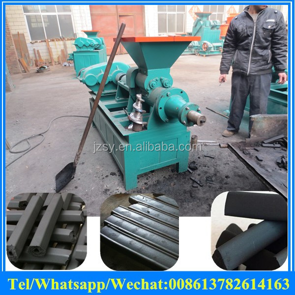 coal briquette extruder / charcoal briquette making machine