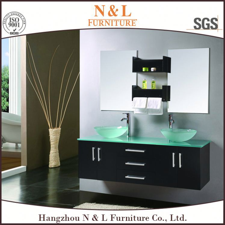 Top Sale Wooden Style Luxury Chinese Bathroom Vanity