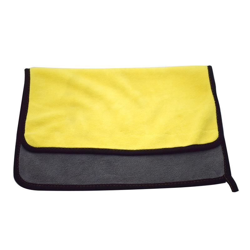Car <strong>Care</strong> Polishing Wash Towels Plush Microfiber Washing Drying Towel Strong Thick Fiber Car Cleaning Cloth