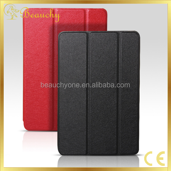 2017 Fashion soft silk Leather Cover For IPad Mini 2 Tablet Covers Cases