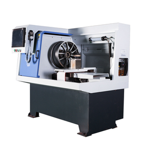 Alloy CNC Wheel Lathe Diamond Cut Machine Repair Polish Refurbish Alloy Rims