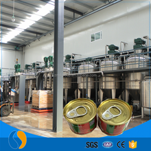 Canned tomato paste sauce food processing equipment