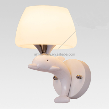Modern dolphins Style Lamp Wall Lamp popular Wall Lamp for bedroom