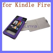 360 Rotating PU Leather Fold Holder Case for Kindle Fire