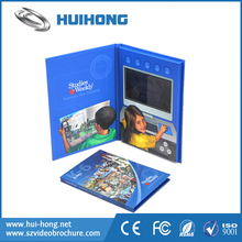 Advertising Promotional Product 7 inch TFT LCD Video Brochure Video Book