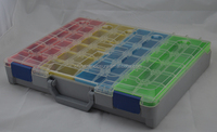 China Manufacturer blow mold plastic tool case