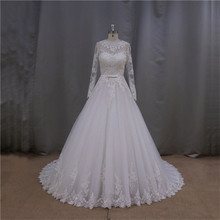 Touching embroidery lace wedding dress wholesale clothing