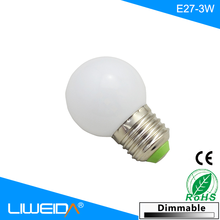 Low cost 3w E27 2700k-6500k led light bulb , led bulb lighting