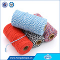 factory best-selling two colorful bakers cotton twine for decorative