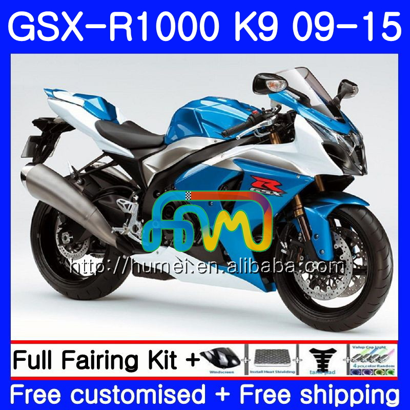 Fairing For SUZUKI K9 GSX-<strong>R1000</strong> blue black 2009 2010 2011 2012 2014 2015 74HM63 GSX <strong>R1000</strong> GSXR 1000 GSXR1000 09 10 11 12 13 15