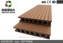 engineered outdoor wpc decking-wood plastic composite for wpc decking composite
