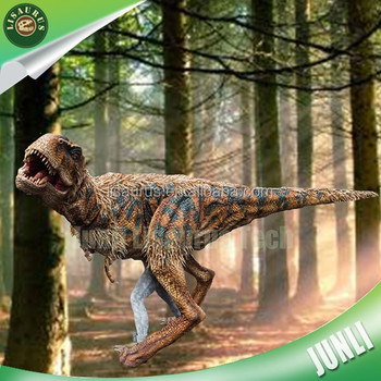 Lisaurus-CH627 silicon rubber dinosaur costume for Jurassic theme park
