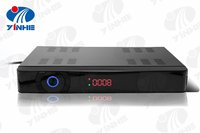 made in china HD S2 digital Twin Tuner satellite receiver with IR out