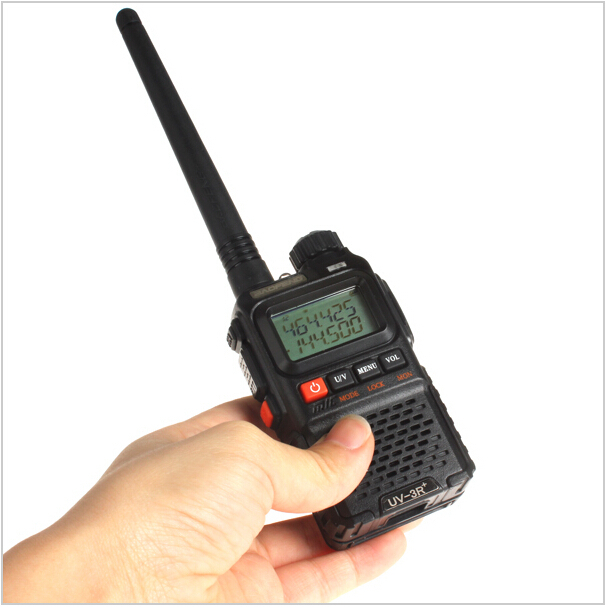 Dual band dual display ham radio UV-3R mini pocket two way intercom Baofeng UV 3R