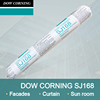 Dow corning one component neutral cured weatherproof silicone sealant.