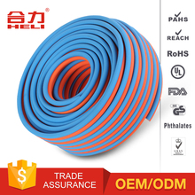 Korea red-blue pvc twin line gas welding hose