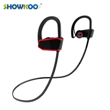 Sport IPX7 waterproof stereo wireless bluetooth running in ear headphones for mobile phone