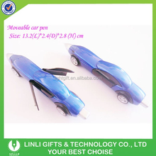 Hot Selling Promotional ABS Plastic Car shaped Ball Pen with Logo