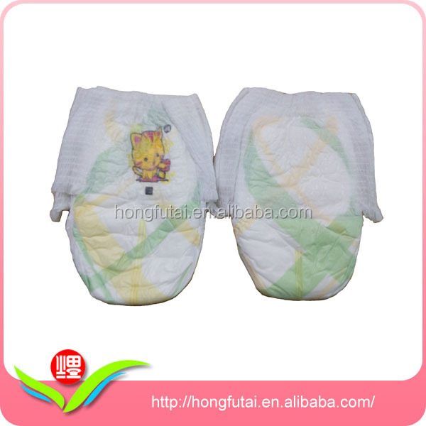 super absorbency sleepy Baby Diapers pans soft trainning pants elastic disposable pants