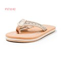 PU Upper High Quality Ladies Flip Flops Made In China