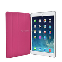 2015 Best sale Factory Direct OEM/ODM leather flip case for ipad air