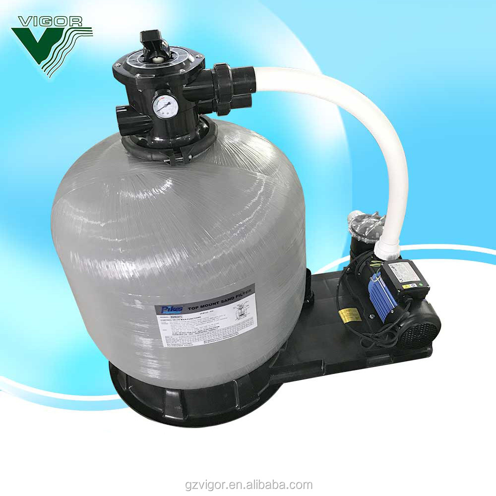 2018 Factory supply Top Mount Swimming Pool 900mm Quartz Sand Filter Above Ground