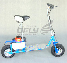 China CE folding 43cc cheap gasoline motor scooter