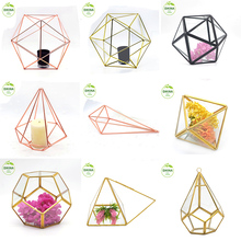 China manufacture made large glass terrarium geometric ++ hot popular china wholesale brass geometric glass terrarium necklace