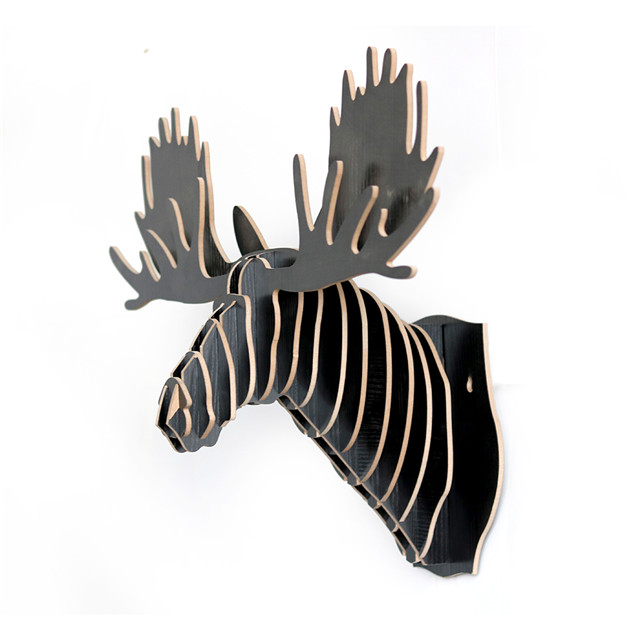 new design 3D animal head wall decoration