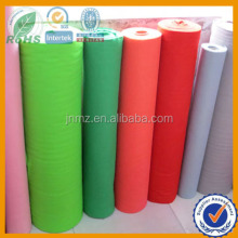 colored viscose non-woven wool and polyester felt fabric