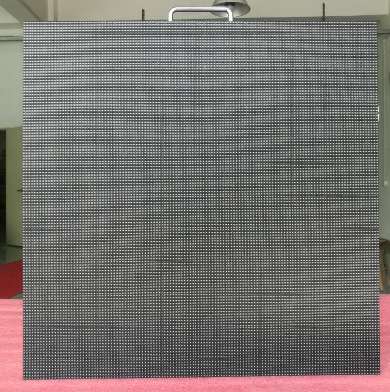 Rental LED Screen PH3.91 LED Panel Black LED Refresh Rate High Resolution Video Display
