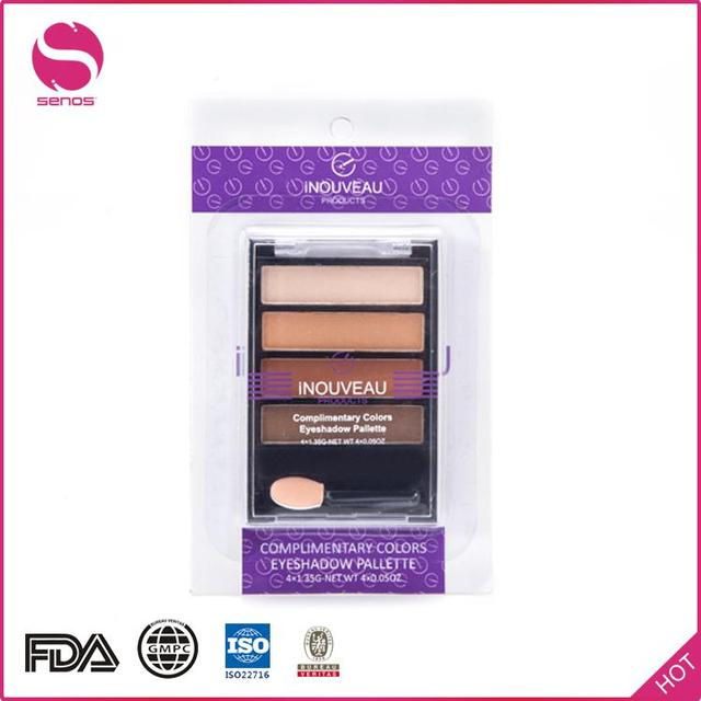 Senos China Alibaba Excellent Quality No Branded Multi-Colored Eye Shadow