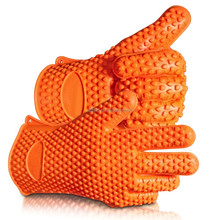 heat protective cooking gloves,bbq glove nomex oven gloves,waterproof heat resistant gloves