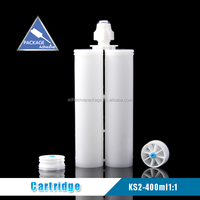 KS-2 400ml 1:1 Empty Plastic Adhesive Cartridge
